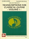 Clyde Witmyer: Transcriptions for Classical Guitar Vol. 1