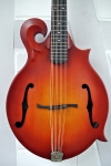 Weber (USA) Gallatin F Mandocello with Scarlett Fire Satin Finish